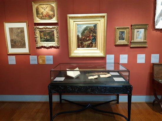 Musée national Eugène Delacroix : In the atelier.