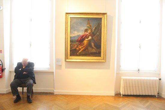 Musée national Eugène Delacroix : A nice spot for a nap. :P