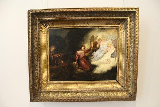 Musée national Eugène Delacroix : La Christ au Jardin des Oliviers by Delacroix.