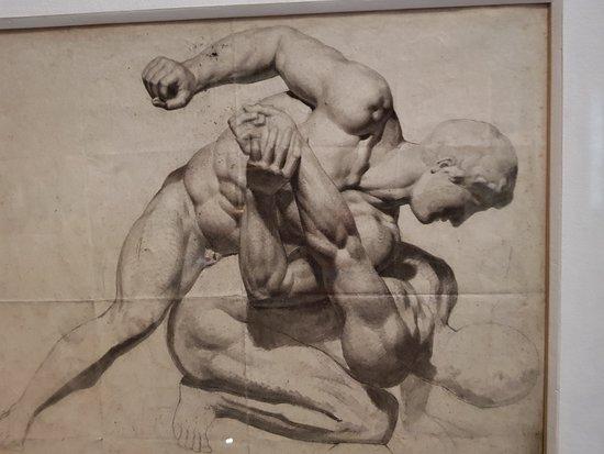 Musée national Eugène Delacroix : A beautiful sketch by Delacroix.
