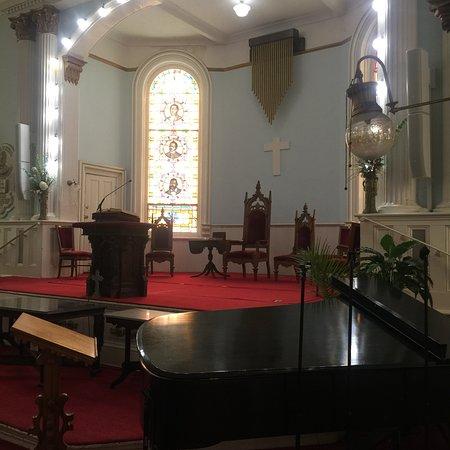 First African Baptist Church : Few of main alter