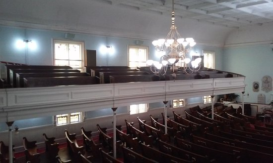 First African Baptist Church : View from the upper pews