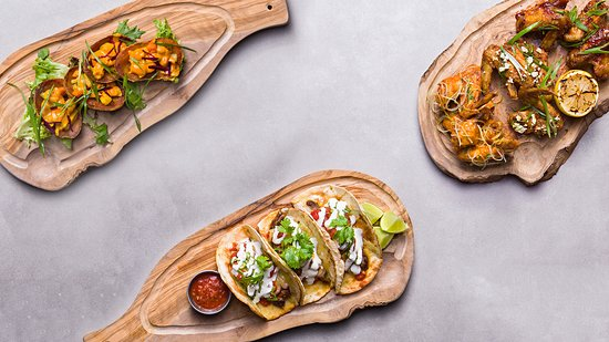 East Maitland, Australien: Tacos, loaded skins and wings