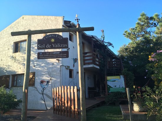 Valizas, Ουρουγουάη: Fachada da pousada