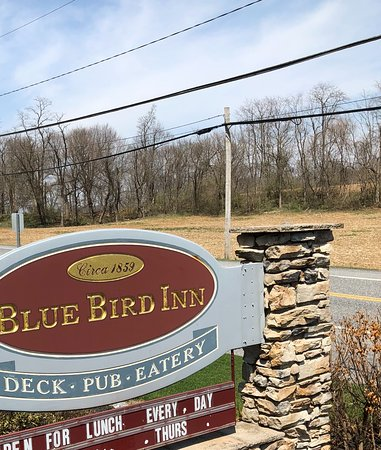 Entrance to Blue Bird Inn