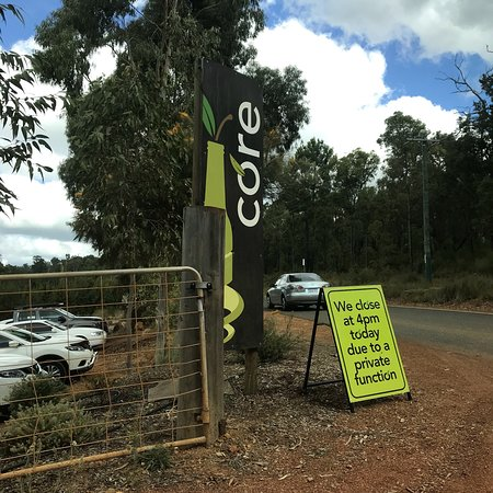 Pickering Brook, Australia: Core Cider - sorry my bad, I wasn't able to add photos earlier, so now attaching herewith for th