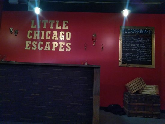 Moose Jaw, แคนาดา: Little Chicago Escape Room