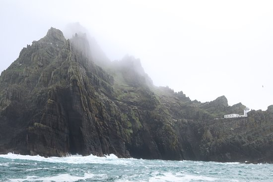 Portmagee, أيرلندا: Skellig Michael view from the water