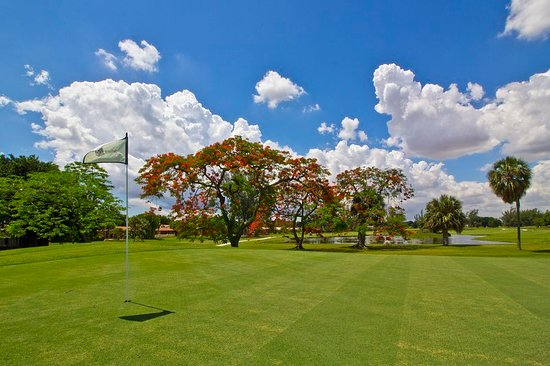Miami Lakes, فلوريدا: Golf course