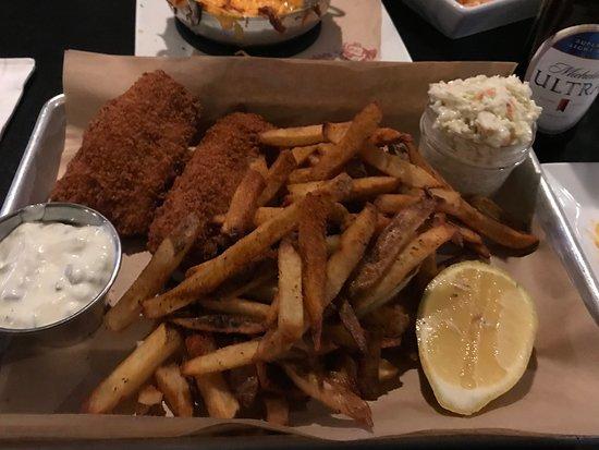 Smithfield, RI: fish and chips