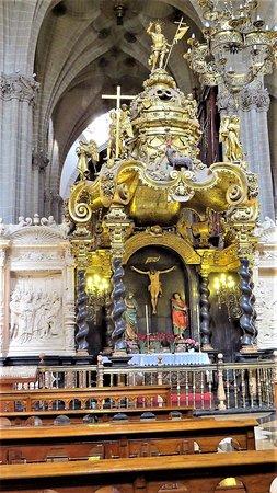 La Seo del Salvador: Cristo de la Seo