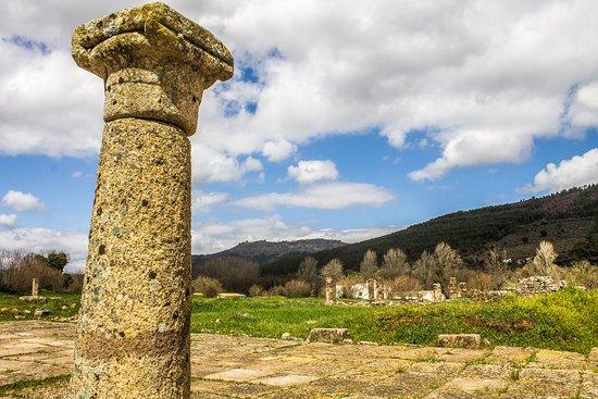 Cidade Romana de Ammaia: Exterior (Porta Sul)