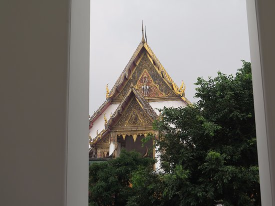 Wat Suthat : Frente del templo