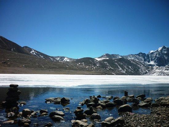Gurudongmar Lake,North Sikkim, India @ 17800 ft