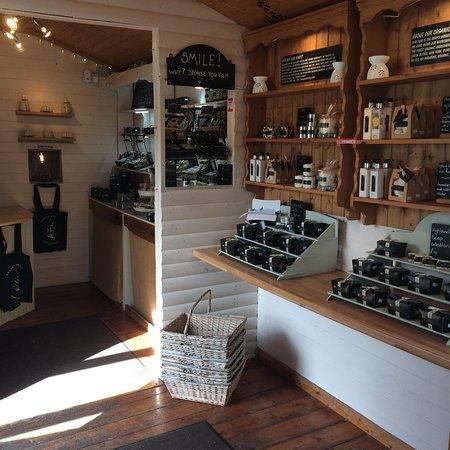Drumbeg, UK: Secret Tea Garden