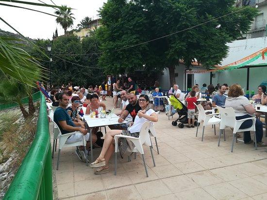 Sumacarcer, إسبانيا: De tardeo en el chiringuito de Sumacàrcer