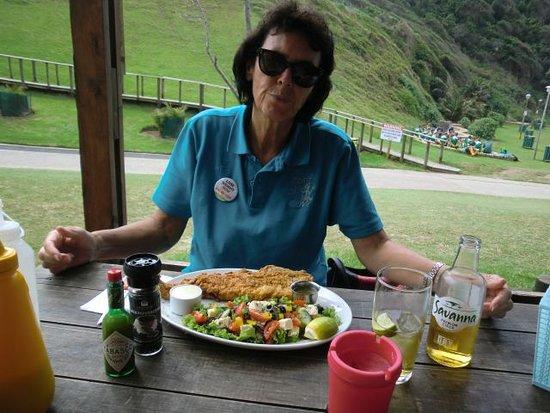 Victoria Bay, South Africa: Mittagessen