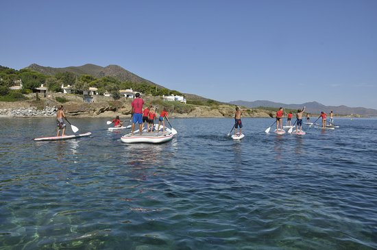 El Port de la Selva, Spain: Stand Up Paddle with Children