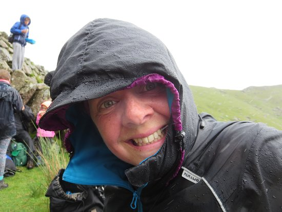 Always smiling, whatever the weather.
