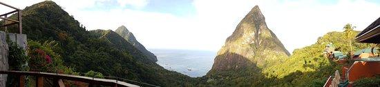 Ladera Resort: panoramic view