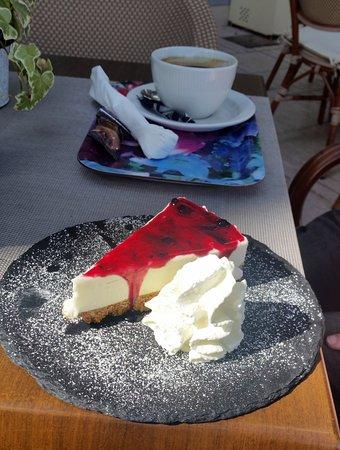 Sensations: Utmärkt cheesecake