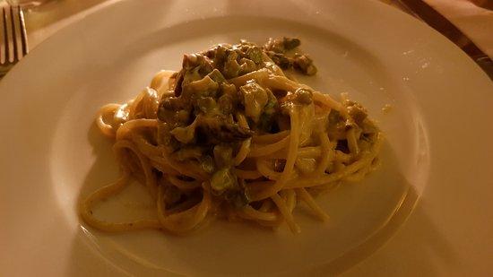 Damimo: Carbonara asparagi e acciughe