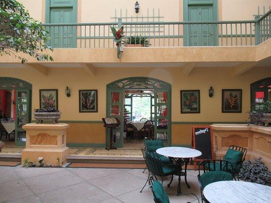 Hotel Casa Turire : Innenhof