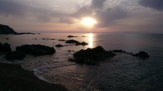 Stegna Beach: sunrise