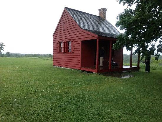 Stillwater, NY: Farmhouse on the battlefield.