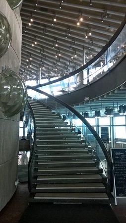 Liberec Region, Czech Republic: Entrance from lobby to the restaurant