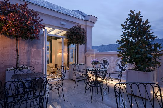 Terraza Picture Of Relais Chateaux Heritage Madrid Hotel