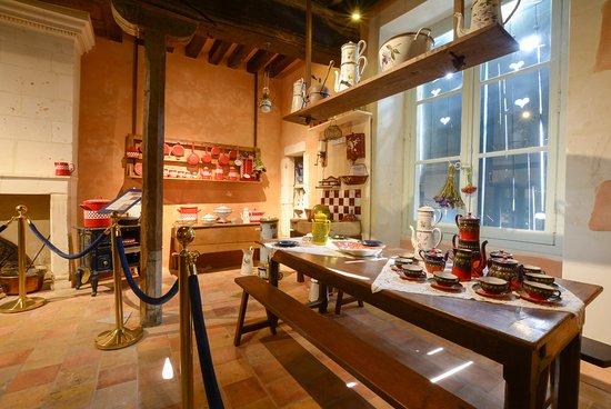Chateau du Loir, Frankrike: La cuisine