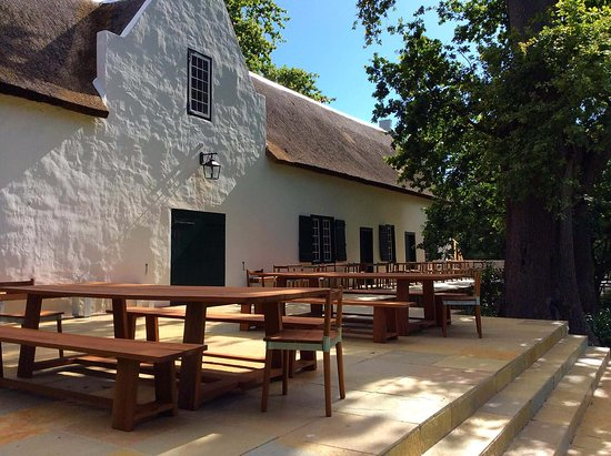 Constantia, South Africa: Wine tasting building