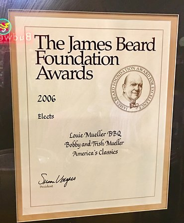 Taylor, TX: The James Bear Award