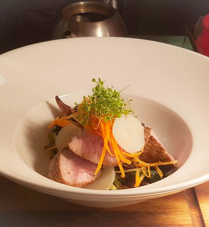 The Forest Bar & Restaurant: Pork dish