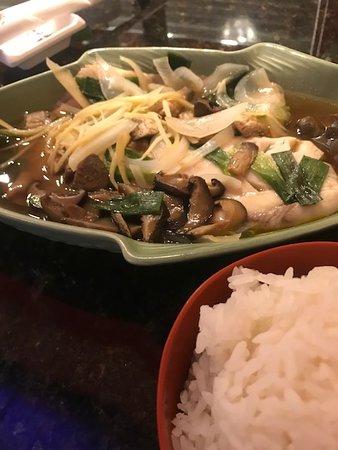 Thai Thai II Restaurant: Steamed fish