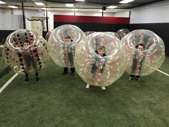 North Conway, NH: Knockerball!