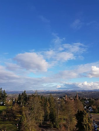 Crieff Hydro Hotel and Resort: View from room 376