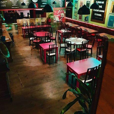 Havanita café: Salle