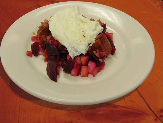 Prescott, WI: Red Flannel Hash from our breakfast menu