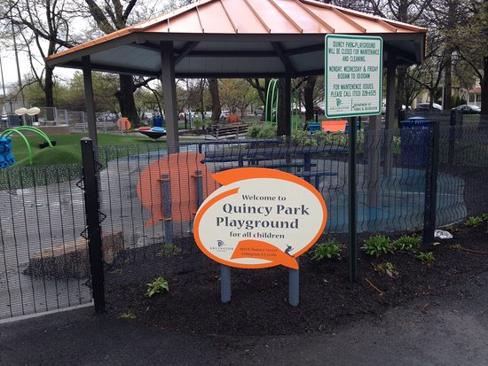 Arlington, VA: Notices by kids play area