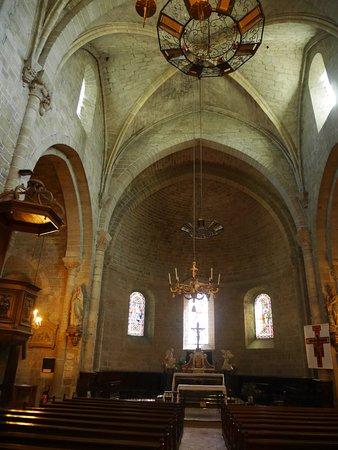 Saint-Hilaire, Frankreich: intérieur église