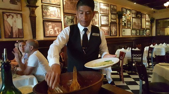 Wild Foodie Tours: Caesar's Restaurant & Downtown Tijuana Tour: Caesar salad prepared tableside as in the 1920s!