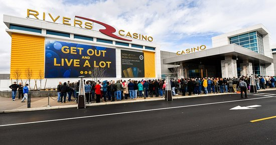 Schenectady, NY: Rivers Casino - Opening Day