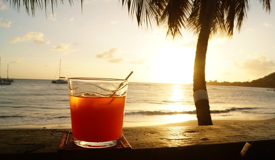 Laborie, St. Lucia: Rum Punch