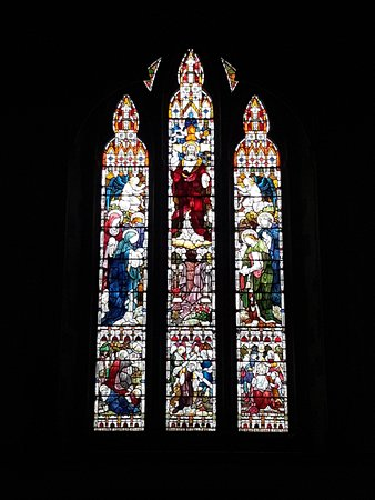 St Lawrence Church: Stained Glass