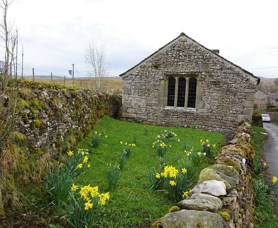 Shap, UK: Keld Chapel from the access road
