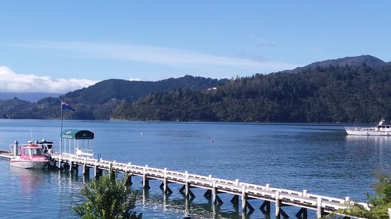 Marlborough Region, New Zealand: The jetty