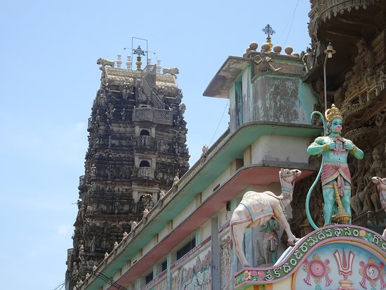 Guntur District, India: TEMPLE FROM OUTSIDE