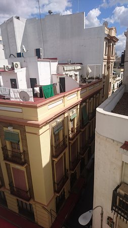 Hotel Derby Sevilla: View from the room